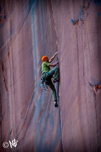 moab crack climbing