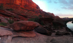 Easter Worship in Moab