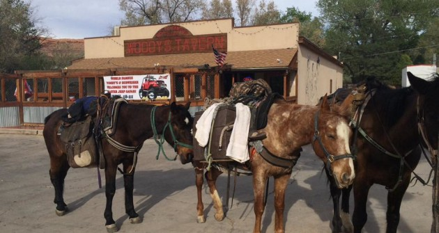 Experience the World Famous Woody's Tavern in Moab, Utah.
